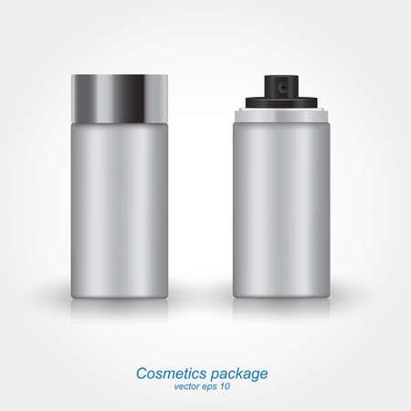 cfc: Spray Can Bottle. Vector Illustration