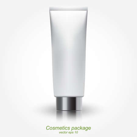Clean Tube Of Cream Vector