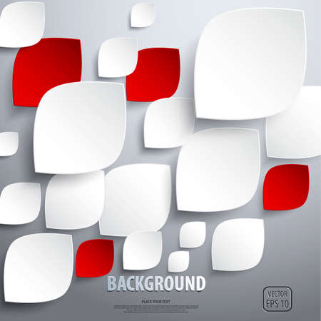 Background of cut paper- design template. Vector Stock Vector - 18533901