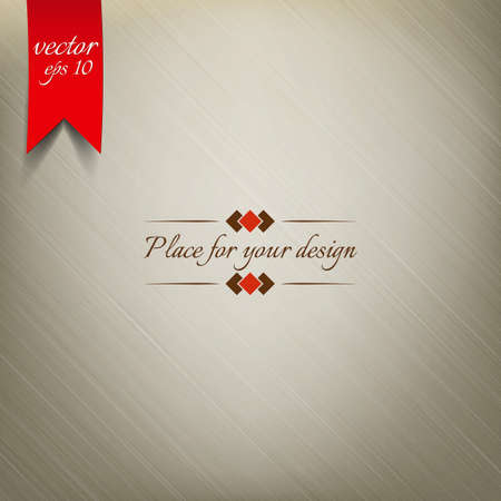 burlap: Light Brown Fabric Texture. Vector