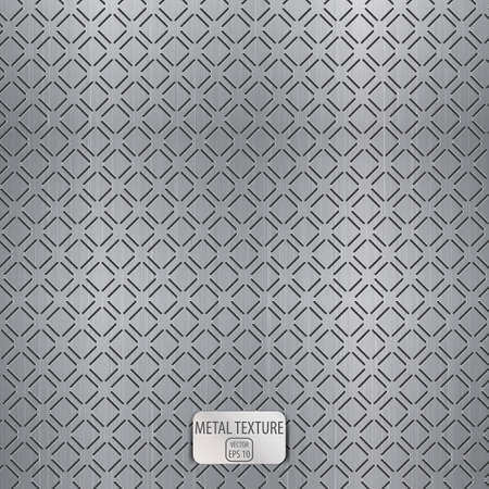 Seamless metal texture background.  Stock Vector - 19684637
