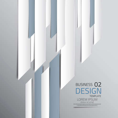Modern Design template - can be used for infographics. Vector Illustration