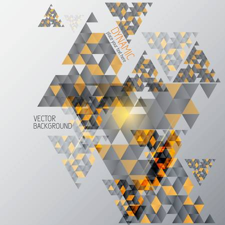 Abstract  Background With Geometric Shapes . Vector Stock Vector - 20912702