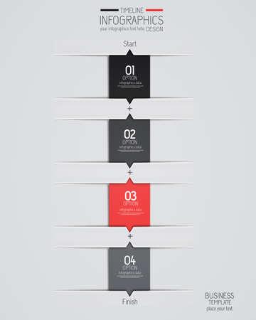 information design: Minimal infographics design. Vector can be used for workflow layout, diagram, number options, web design. Illustration