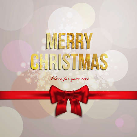 holy place: Christmas background with place for text. Vector