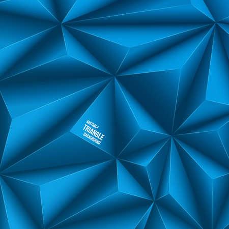 Polygonal design. Vector background Vector