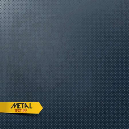 Metal texture background. Vector Vector