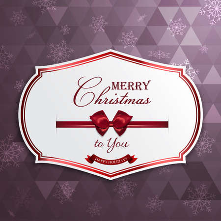 holy place: Christmas  greeting card.Greeting card or invitation. Vector