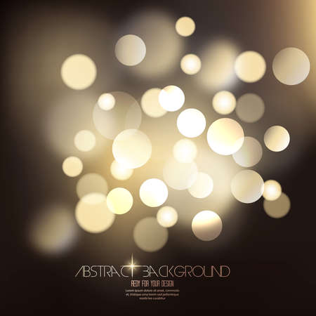 elegant: Bokeh light background