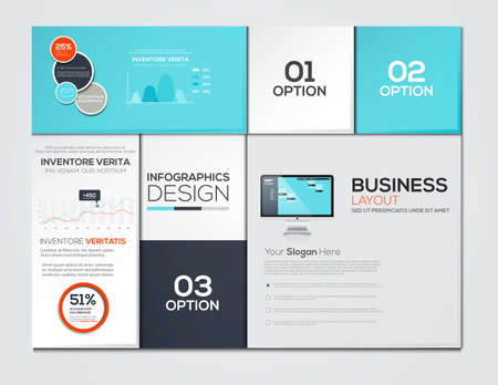 Modern Design Minimal infographic template - can be used for infographics , numbered banners , horizontal cutout lines , graphic or website. Vector Illustration