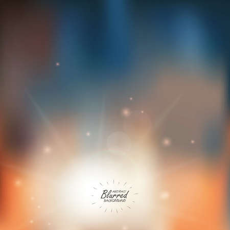 Color Abstract Blurred backgrounds. Vector