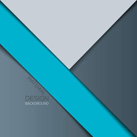 Moderne ontwerp van het materiaal achtergrond. Vector Stock Illustratie