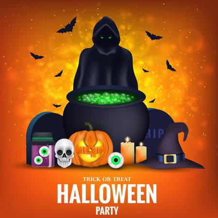 Happy Halloween Banner template