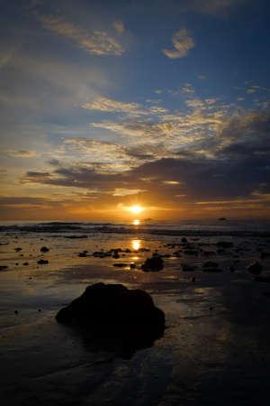 hua hin: The First Light Behind the Sea, at Hua Hin, Beauty of Nature