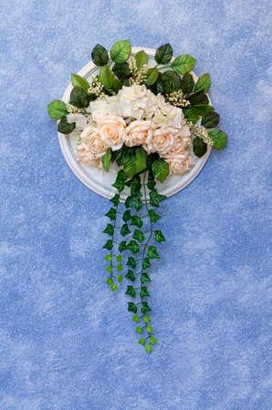trabajo manual: Ramo de boda hermoso trabajo hecho a mano colgar en la pared