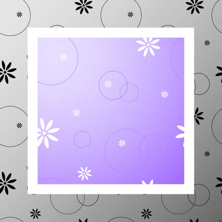 Cute seamless pattern with flowers and circles. Space. Mood. Love, romantic and Valentines Day background. Wrapping paper also. Easy and convenient to edit.