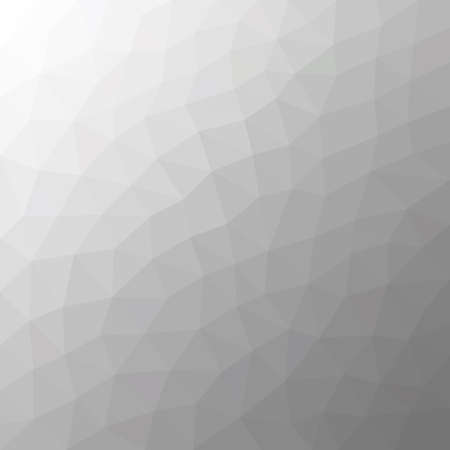 Light grey polygonal illustration, which consist of triangles. Geometric background in Origami style with gradient. Triangular design for your business.