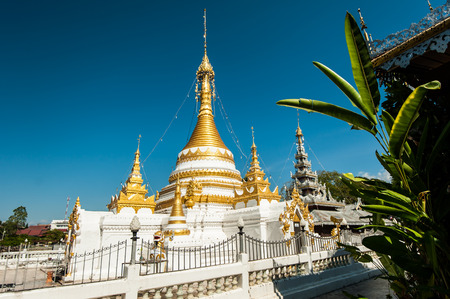 grand son: Wat Jongklang -Jongkham Stock Photo