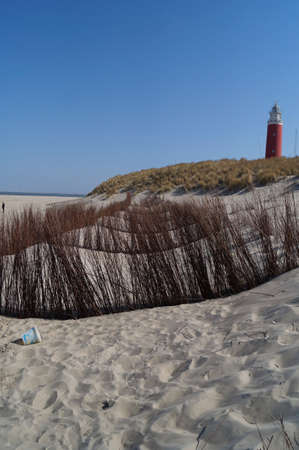 texel: The red lighthouse of Texel
