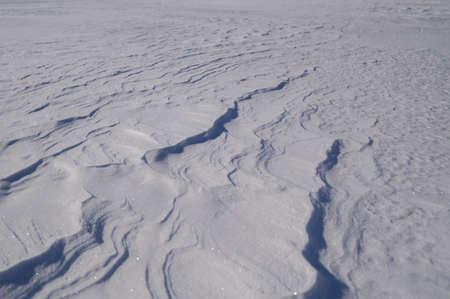 flicker: snow dunes on a plane in Lapland