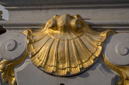 iii: Detail of Pont Alexandre III in Paris