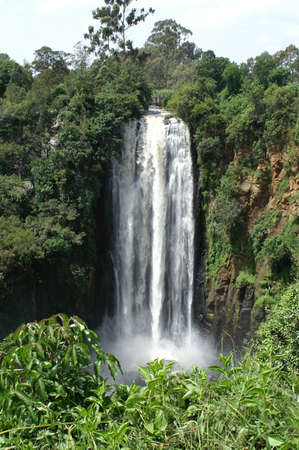 Thomsons Falls in Kenya
