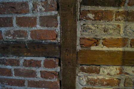 paredes de ladrillos: ladrillo medieval en la Torre de Londres