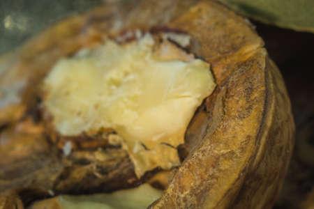 walnut half close-up