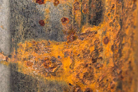 rusty metal close-up close-up macro photo of rust