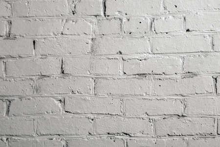textura de la pared de ladrillo blanco antiguo