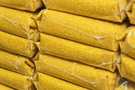 sale of grain packing millet. Agriculture wheat sales