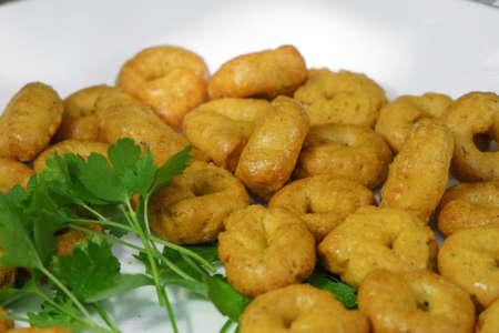 tarallini Italian snacks bagels snacks cookies drying 版權商用圖片