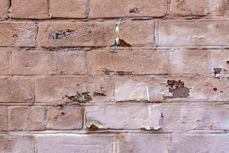 old orange brick wall texture