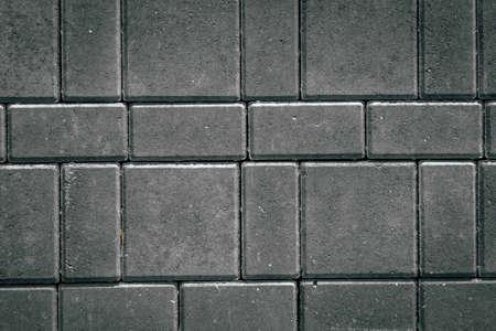 Mosaic pavers stones of small stones Banco de Imagens