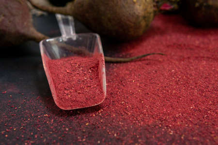beet powder, flour for cooking various dishes, use as a dye. low carb diet, gluten free, planted based vegan food