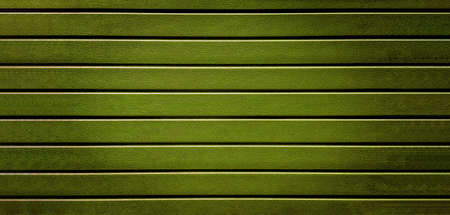 khaki color striped plastic fence texture background. By type of wood simulating the wooden surface of the siding Archivio Fotografico