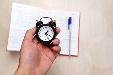Time Management. Concept for time management. Selective focus. Standard-Bild