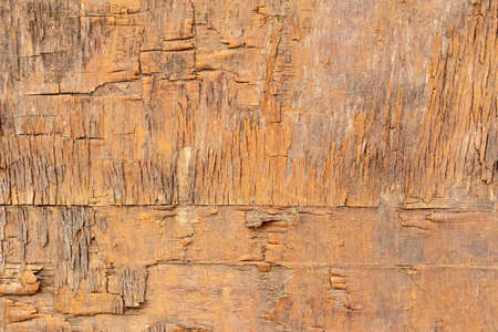 wooden background from old printed boards. the facade of the old building. Place for text. cracked surfaces Stok Fotoğraf