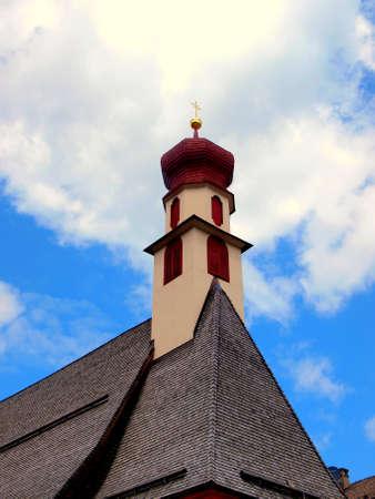 religiosity: Saint Antonio Church in Ortisei , Italy