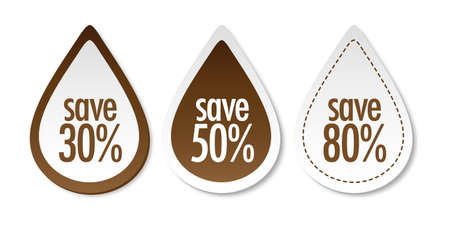 water quality: Save on brown stickers