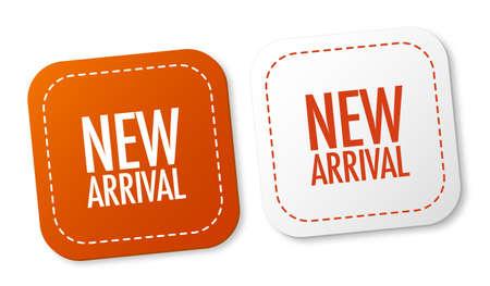 New arrival stickers Vektorové ilustrace