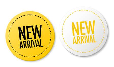 Nuevas etiquetas de llegada