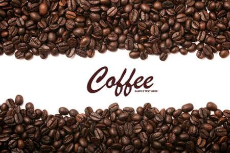 granos de cafe: Los granos de café rayas de fondo