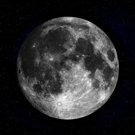 Full moon in the night sky Stock Photo - 10754167