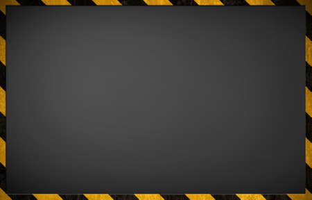Warning blackboard background Stock Photo - 10754153