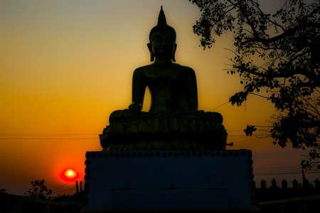 minister: mahasarakham Buddha Stock Photo