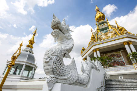 literary: Literary characters Thailand at Wat thong sed thi temple in khonkean province,Thailand