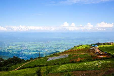 phu: landscape of phu tub berg phetchabun., travel season in Thailand. Stock Photo