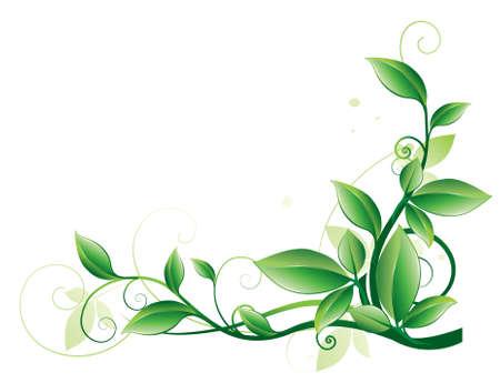 Abstract floral achtergrond. Element voor ontwerp. Stock Illustratie