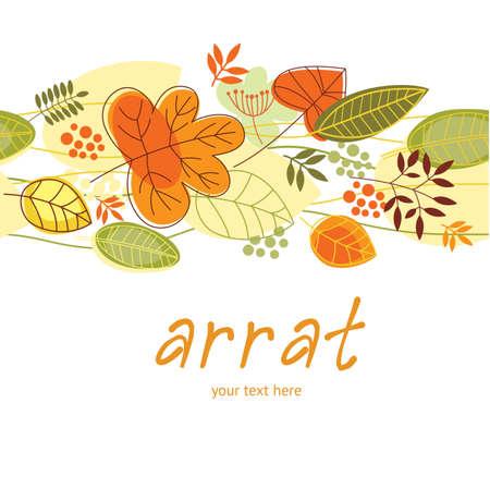 leaves green: pastel leaves vector repeat